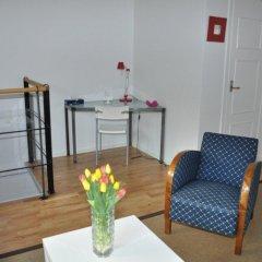 Отель Villa Vega Apartments Швеция, Лунд - отзывы, цены и фото номеров - забронировать отель Villa Vega Apartments онлайн комната для гостей фото 3