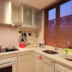 Апартаменты Portofino International Apartment Улучшенный люкс с различными типами кроватей