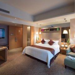 Отель Pan Pacific Xiamen 5* Улучшенный номер с различными типами кроватей фото 3