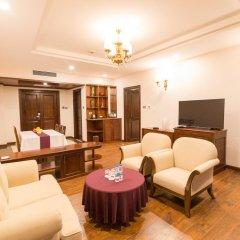 Saigon Halong Hotel 4* Представительский люкс с различными типами кроватей фото 3