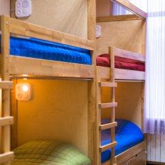 DREAM Hostel Zaporizhia Кровать в общем номере с двухъярусными кроватями фото 9