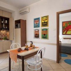 Отель Residence Blu Mediterraneo 2* Апартаменты с различными типами кроватей фото 10
