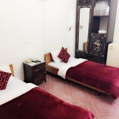 Thien Trang Hotel Улучшенный номер с различными типами кроватей фото 4