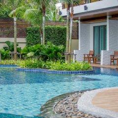 Отель Aqua Resort Phuket 4* Стандартный номер с двуспальной кроватью фото 9