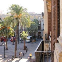 Отель Pension Villanueva балкон