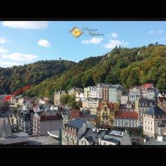 Отель Pension Napoleon Чехия, Карловы Вары - отзывы, цены и фото номеров - забронировать отель Pension Napoleon онлайн балкон