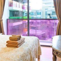 Отель Rocco Huahin Condominium Апартаменты с 2 отдельными кроватями фото 32