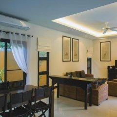 Отель Two Villas Holiday Oriental Style Layan Beach 4* Вилла с различными типами кроватей фото 11