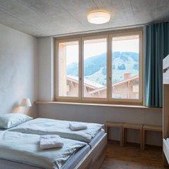 Youth Hostel Gstaad Saanenland Стандартный номер с различными типами кроватей фото 8