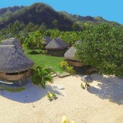 Отель Moorea Fare Miti Французская Полинезия, Муреа - отзывы, цены и фото номеров - забронировать отель Moorea Fare Miti онлайн пляж