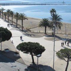 Отель Palmeras 5.2 Испания, Курорт Росес - отзывы, цены и фото номеров - забронировать отель Palmeras 5.2 онлайн пляж фото 2