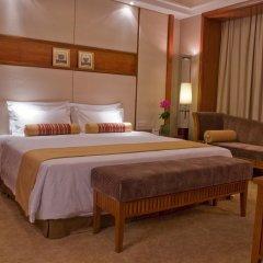Baiyun Hotel Guangzhou 4* Представительский люкс с различными типами кроватей фото 4