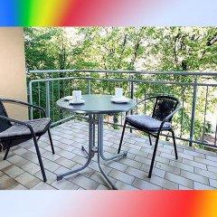 Отель FeWo II - VI Altstadt - Am grossen Garten Германия, Дрезден - отзывы, цены и фото номеров - забронировать отель FeWo II - VI Altstadt - Am grossen Garten онлайн балкон