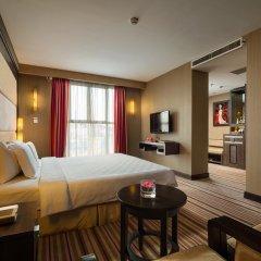 Silk Path Hotel Hanoi 4* Номер Делюкс разные типы кроватей фото 3