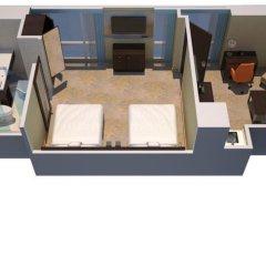 Отель Courtyard by Marriott New York Manhattan/Chelsea 3* Люкс с различными типами кроватей фото 2