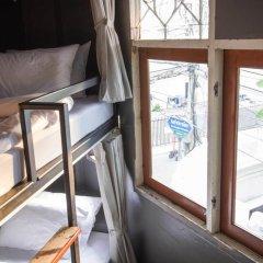 Here Hostel Кровать в общем номере фото 8