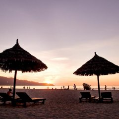 Отель Temple Da Nang пляж фото 2