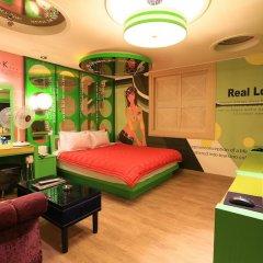 Haeundae Grimm Hotel 2* Номер Делюкс с различными типами кроватей фото 34