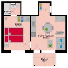 Апартаменты Letzigrund Apartments интерьер отеля фото 2