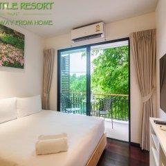 Отель The Title Phuket 4* Улучшенный номер с разными типами кроватей фото 9