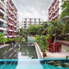 Отель Diamond Suite 2BR Apt in Thappraya Паттайя бассейн