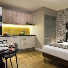 Отель Citadines Tour Eiffel Paris 4* Студия с различными типами кроватей фото 5