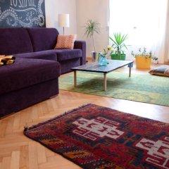 Апартаменты Galeria Apartments Будапешт комната для гостей фото 2