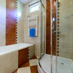 Отель Vitoshka Vip Apartments Hotel Болгария, София - отзывы, цены и фото номеров - забронировать отель Vitoshka Vip Apartments Hotel онлайн ванная