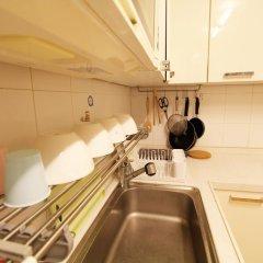 The City Hostel Hongdae Апартаменты с различными типами кроватей фото 17