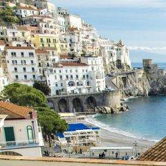 Отель Casa Lilla Италия, Амальфи - отзывы, цены и фото номеров - забронировать отель Casa Lilla онлайн пляж фото 2