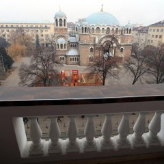 Отель Sofia City Flat балкон