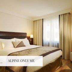 Отель Mont Cervin Palace 5* Стандартный номер с различными типами кроватей фото 2