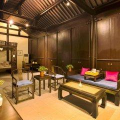 Отель Suzhou Shuian Lohas Вилла с различными типами кроватей