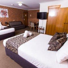 Отель Advance Motel 3* Семейный люкс с двуспальной кроватью фото 4