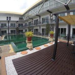 Отель Central Pattaya Garden Resort 2* Стандартный номер с различными типами кроватей