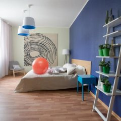 Апартаменты Максим Апартаменты с различными типами кроватей фото 21