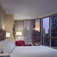 Отель Vancouver Marriott Pinnacle Downtown комната для гостей фото 2