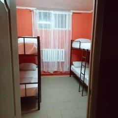 Хостел Кутузова 30 Кровать в общем номере с двухъярусной кроватью фото 14
