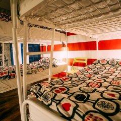 Sky Хостел Кровать в мужском общем номере с двухъярусной кроватью фото 3