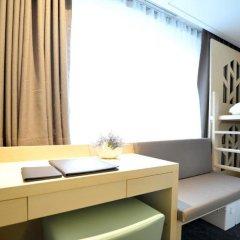 aFIRST Hotel Myeongdong 3* Стандартный семейный номер с двуспальной кроватью фото 9