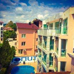 Jupiter 1 Family Hotel Балчик балкон
