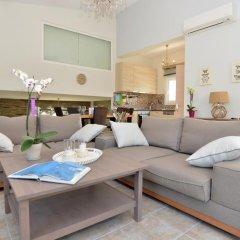 Отель Villa Arhondula 3* Вилла с различными типами кроватей фото 25