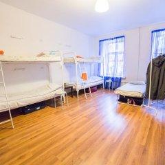 Хостел Online Кровать в общем номере с двухъярусной кроватью фото 12