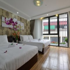 Hanoi Bella Rosa Suite Hotel 3* Стандартный семейный номер с двуспальной кроватью фото 10