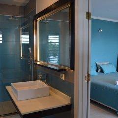 Отель Villa Blue Lagoon by Tahiti Homes Французская Полинезия, Папеэте - отзывы, цены и фото номеров - забронировать отель Villa Blue Lagoon by Tahiti Homes онлайн ванная фото 2