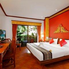 Отель Kata Palm Resort & Spa 4* Улучшенный номер с двуспальной кроватью фото 5