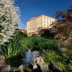 Отель Francis Palace Чехия, Франтишкови-Лазне - отзывы, цены и фото номеров - забронировать отель Francis Palace онлайн приотельная территория