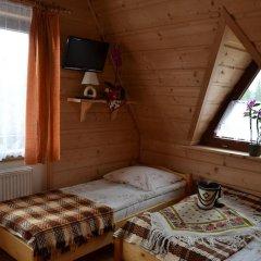 Отель Leśne Zacisze Мурзасихле комната для гостей