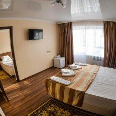 Гостиница Русь (Геленджик) 3* Стандартный семейный номер с двуспальной кроватью фото 5