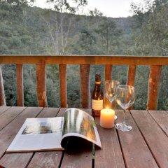Отель Lemonthyme Wilderness Retreat балкон